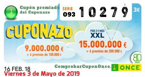 Cuponazo once viernes 20 de abril 2019