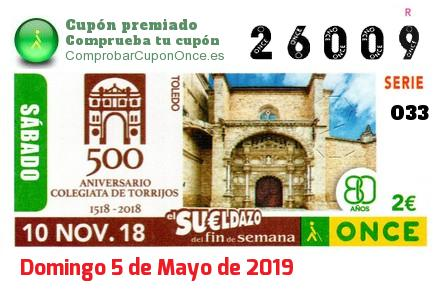 Cupon once 10 septiembre 2019